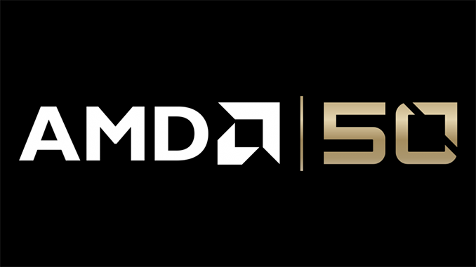 AMD Rilis Ryzen 2700X Gold Edition dan Radeon VII Gold Edition Di Ulang Tahun nya yang Ke 50